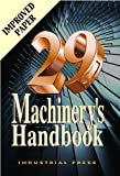 Machinerys Handbook (Machinerys Handbook (Large Print)) by Erik Oberg, Franklin D. Jones, Henry H. Ryffel (2012) Hardcover
