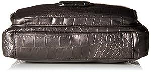 Bolsa Rosetti Cash and Carry Colorblock Celeste, color Pewter Croc