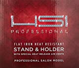HSI PROFESSIONAL HIGH TEMPERATURE HEAT RESISTANT FLAT HAIR IRON STAND / HOLDER fits most 1 inch models