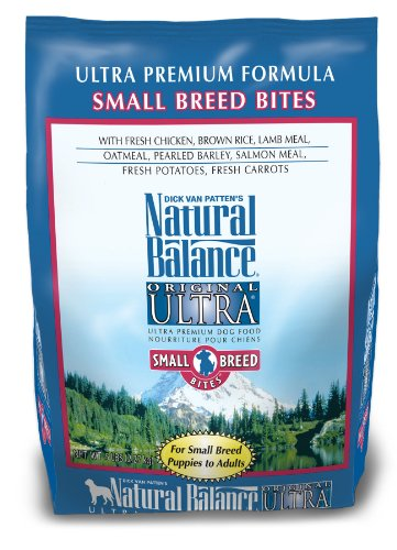 Natural Balance Ultra Premium Small Bite Formula Dog Food, 5-Pound Bag