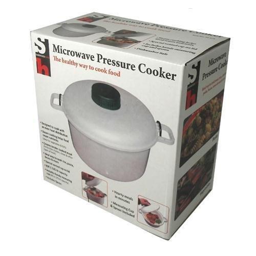 New Microwave Pressure Cooker Steamer Vegetables Rice