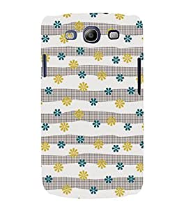 Floral Pattern 3D Hard Polycarbonate Designer Back Case Cover for Samsung Galaxy S3 Neo :: Samsung Galaxy S3 Neo i9300i