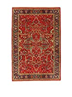 Design Community By Loomier Alfombra In Maghora (Rojo/Multicolor)