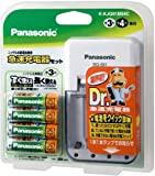 Panasonic 急速充電器(ニッケル水素電池単三形4本付) K-KJQ91M34C