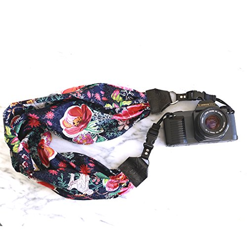 Mimi Green 'Birdie' Scarf DSLR Camera Strap