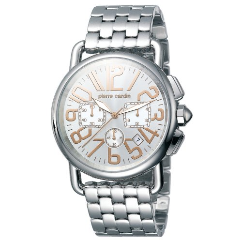 Pierre Cardin Men's PC068771007 Time Couture Collection Revue Chronograph Watch