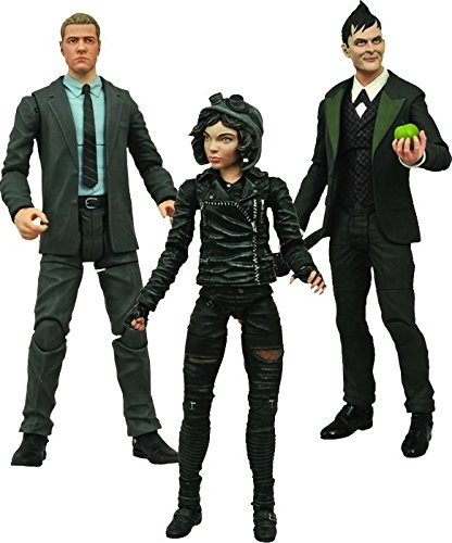 Diamond Select Toys Gotham Select TV Series Penguin, Jim Gordon, Selina Kyle, Action Figure Set of 3 at Gotham City Store