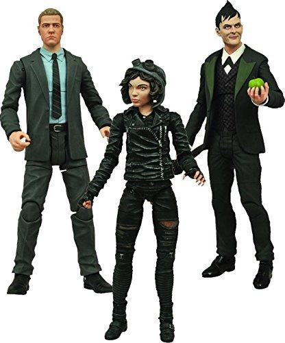 Diamond Select Toys Gotham Select TV Series Penguin, Jim Gordon, Selina Kyle, Action Figure Set of 3