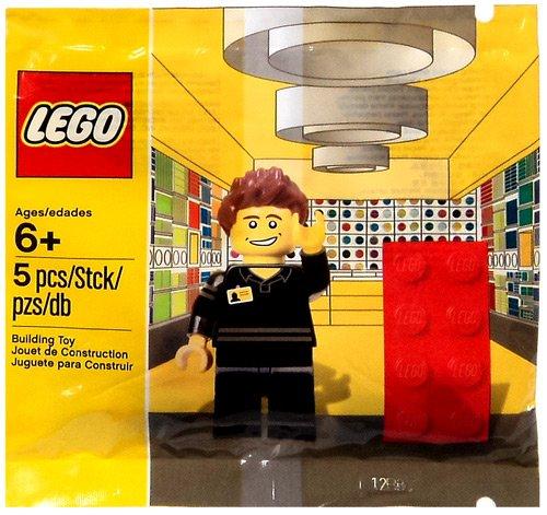 Lego Shop Employee MiniFigure Set 5001622 - 1