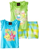 Girls Rule Girls 2-6X 3 Piece Ice Cream Printed Short Set