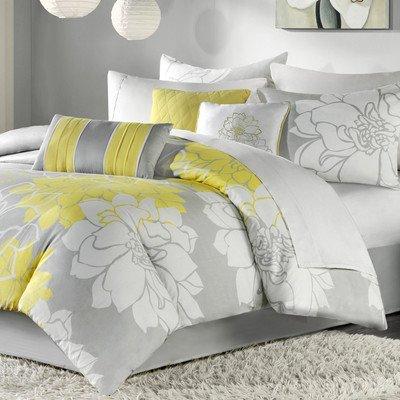 Lola 7 Piece Comforter Set Size: Queen front-803492