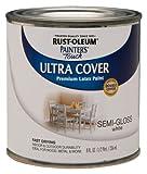 Rust-Oleum 1993730 Painters Touch Latex, Semi-Gloss White
