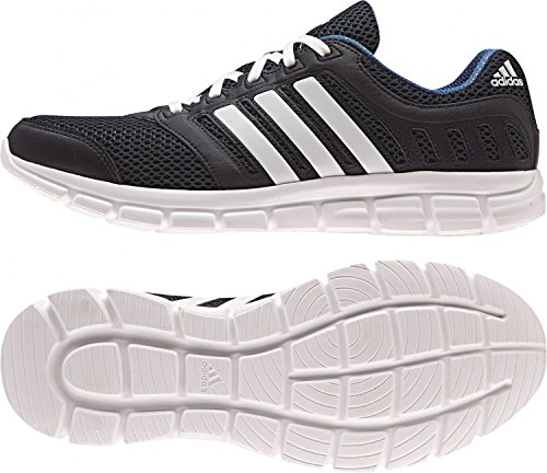 adidas Performance Men's Breeze 101 2 M Running Shoe, Collegiate Navy/White/Equipment Blue, 7.5 M US (Adidas Mens Breeze compare prices)