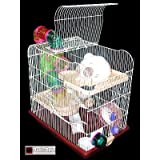 HAMSTER CAGE LARGE OPEN TOP SIROCCO PALACE FOR HAMSTERSby Sirocco