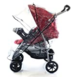 High Quality Travel System Rain Cover For HAUCK SHOPPER 6