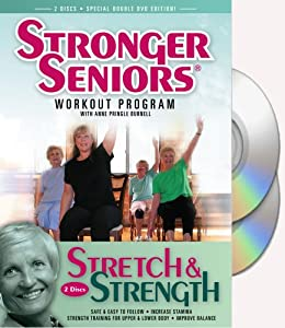 Amazon Com Stronger Seniors 174 Stretch And Strength Dvds 2
