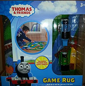 """Thomas Game Rug **Includes Thomas - 40"""" x 40"""" from thomasandfriends"""
