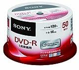 SONY ビデオ用DVD-R 追記型 CPRM対応 120分 16倍速 シルバーレーベル 50枚スピンドル 50DMR12MLDP