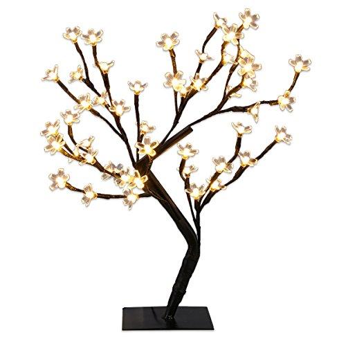 Excelvan 45cm 48er Led Baum Kirschbaum Kirschbl Tenbaum