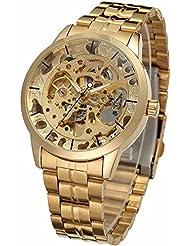 GT Gala Time Luxuries Golden Dial Mechanical Hand Winding Watch For Men