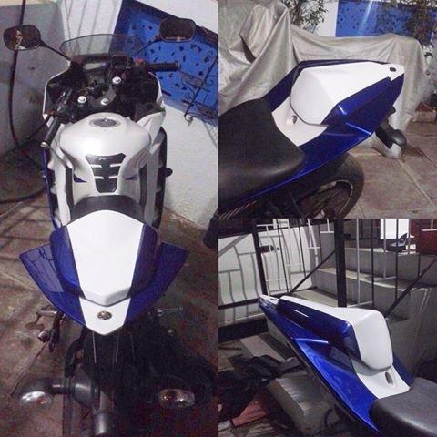 Yamaha R15 v2 0 Seat Cowl@'NA' Rs [Mrp:-'NA'] - Onlinedeals