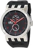 Invicta Men's 10391 DNA Black Carbon Fiber Dial Black Silicone Watch