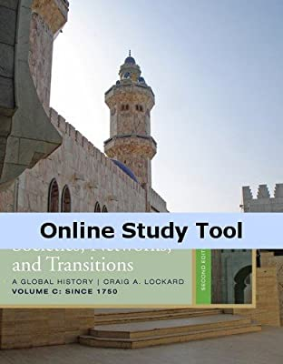 World History Resource Center, InfoTrac, 1 term (6 months) Instant Access, Vol C for Lockard's Societies, Networks, and Transitions, Volume C