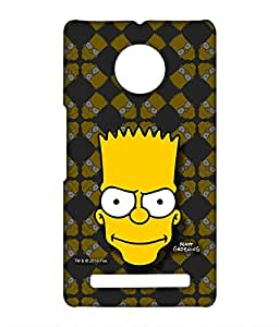 Simpsons - Bartface - Case For Yu Yuphoria