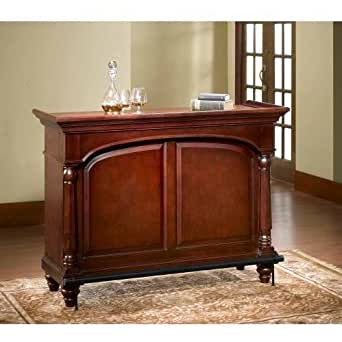 Hillsdale furniture 63455s malone home bar cherry home improvement Home bar furniture amazon