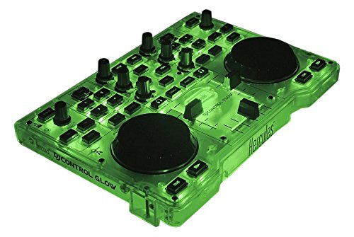hercules-dj-control-glow-green-consolle-per-dj