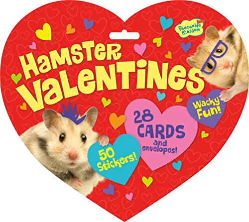 Why Choose Peaceable Kingdom / Valentine Heart Pack Hamster Cards & Stickers