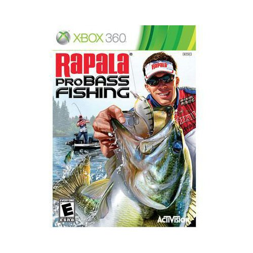 Black friday new activision blizzard rapala pro bass for Bass pro fishing sale