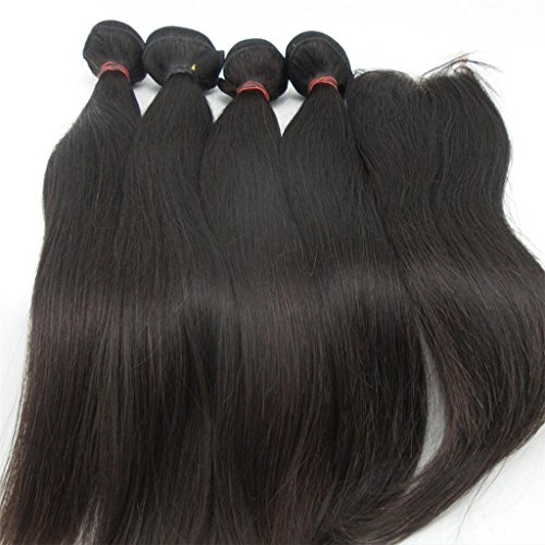 Lanova-Beauty-Cheap-Brazilain-Hair-Silky-Straight-Wave-Weft-4Pcs-10-28Mixed-Length-With-1Pc-Lace-Closure44