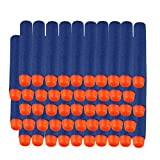 Voberry High Quality 50Pcs Children Tactical Weapon NERF Gun Foam Bullet Blasters Refill Clip Darts Child toy