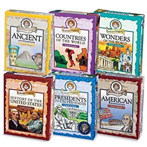 Professor Noggin's History & Geography Card Games: Set of 6
