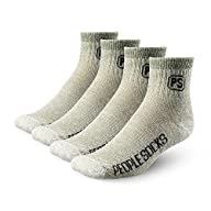 4pairs 71% Merino Wool Socks Large Ankle Cut Men Camping,hikking, Made in USA