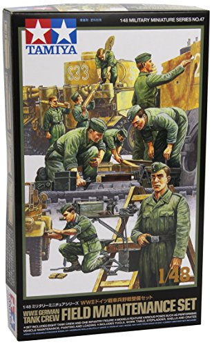 Tamiya Models Tank Crew Field Maintenance Set - 1