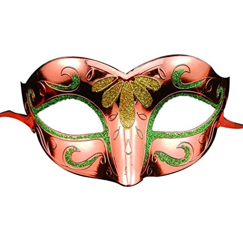 Coxeer® Venice Half Face Colorful Painting Evening Party Prom Masquerade Mask