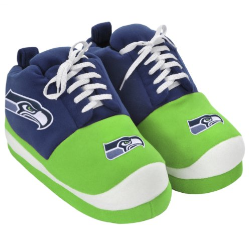 NFL Seattle Seahawks 2011 Men's Sneaker Slipper Medium at Amazon.com