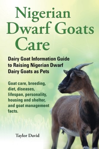 Nigerian Dwarf Goats Care: Dairy Goat Information Guide to Raising Nigerian Dwarf Dairy Goats as Pets. Goat care, breeding, diet, diseases, lifespan, ... and shelter, and goat management facts. PDF