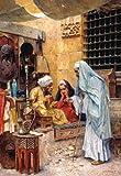 Puzzle 1000 Teile - Basar - idischer / persischer Bazar - 1001 Nacht Orient orientalisch Markt Muslim alter Märkte Verkauf Wasserpfeife Shisha