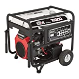 NorthStar Portable Generator - 10,000 Surge Watts, 8500 Rated Watts, Electric Start, EPA and CARB-Compliant