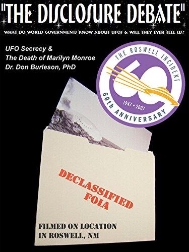 UFO Secrecy & The Death of Marilyn Monroe