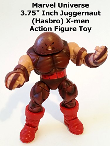 "Review: Marvel Universe 3.75"" Inch Juggernaut (Hasbro) X-men Action Figure Toy"