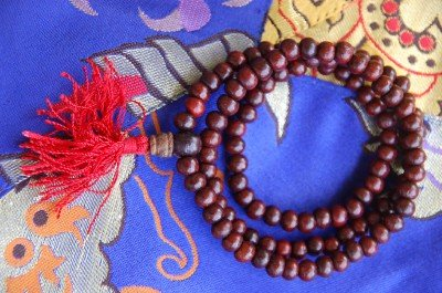 Rosewood Mala 108 Beads Meditation 5.5 with Tassels