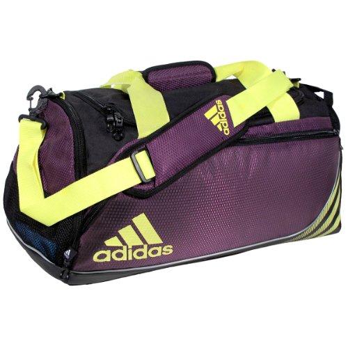 adidas Team Speed Small Duffel Bag, Tribe Purple/Glow