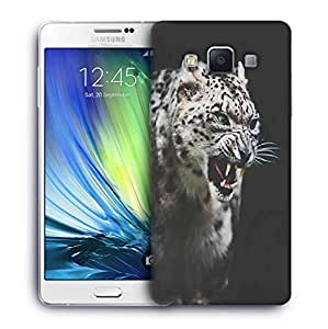 Snoogg Leopard fury Designer Protective Back Case Cover For Samsung Galaxy A7