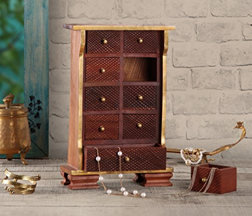 christmas-gifts-sale-fine-wooden-jewellery-trinket-chest-of-9-drawers-multipurpose-girls-accessories