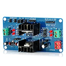 OMB 2 Channels DC Stepper Motor Driver Module for Arduino (Works with Official Arduino Boards)