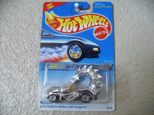 Hot Wheels Rodzilla Silver Series #323-chrome/metal Base/ultra Hots - 1